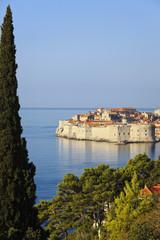 Kroatien, Dubrovnik, Ansicht der alten Stadt