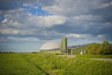 Deutschland, Schleswig -Holstein, Ansicht der Solar-Panel auf dem Dach