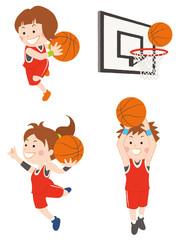バスケットボール 女性