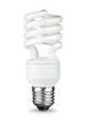 Leinwandbild Motiv energy saving bulb