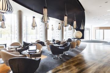 Polen, Warschau, Lounge im Hotel