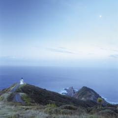 Neuseeland, Ansicht der Leuchtturm am Cape Reinga