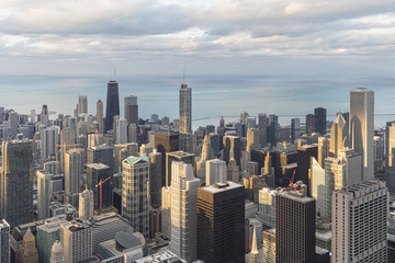 USA, Illinois, Chicago, Blick vom Willis Tower in Chicago