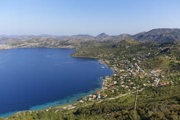 Türkei, Blick auf Sogut Dorf