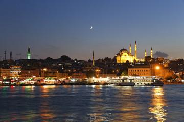 der Türkei, Istanbul, Süleymaniye- Moschee in Eminn