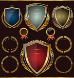 Fototapety Golden shield collection