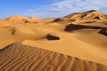 Nordafrika, Algerien, Blick auf Dünen am Erg Tibaradine