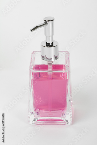 soap on the white background