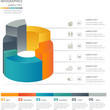 Infographics design elements template