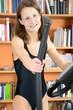 Fitness auf Stepper daheim