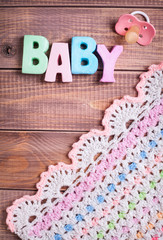 Background for newborn baby