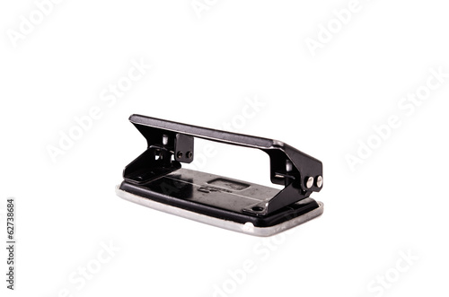 hole punch on a white background