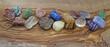 Healer's Crystals on Olive Wood header - 62739249