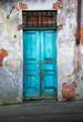 vecchia porta di legno - 62739627