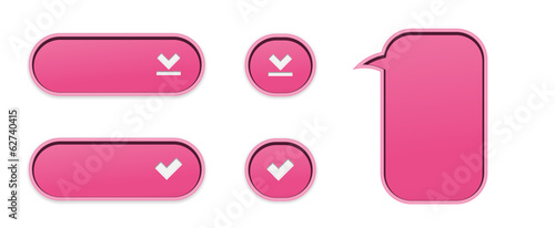 The pink buttons collection