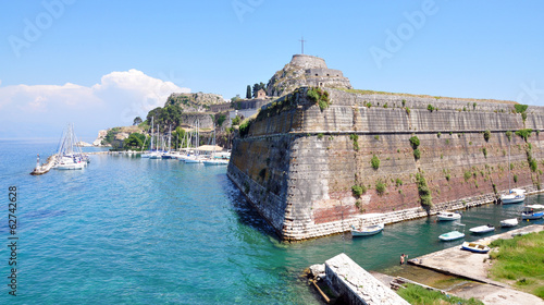 Old Fort and in Corfu, Greece, Europe