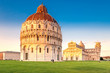 canvas print picture - Schiefer Turm von Pisa