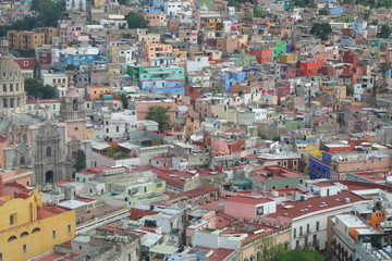 Guanajuato - la palette de couleur urbaine
