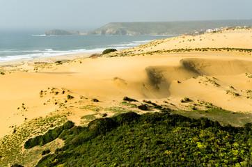 Sardegna, dune della spiaggia di Torre dei Corsari