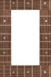 guitar fingerboards with blank space for text