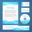 Clean water concept business style template
