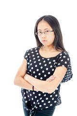 Young Girl in Bad Mood