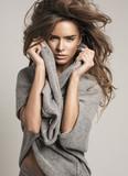 Fototapety Fashion portrait of beautiful woman