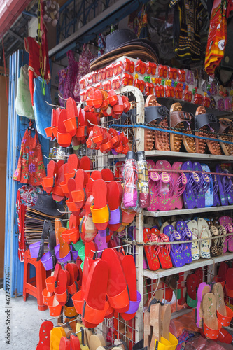 Shop in Malacca Selling Clogs and Sandals