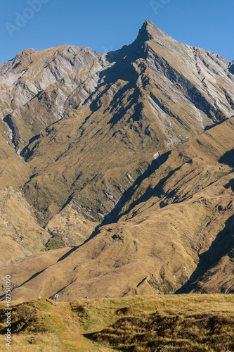 mountain range in Mount Aspiring National Park