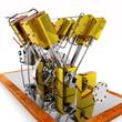 Schiffsdampfmaschine 8-zylinder
