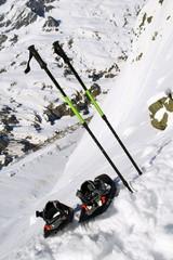 Racchette da neve e bacchette