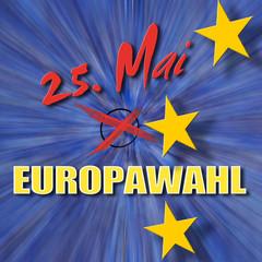 Am 25. Mai ist Europawahl!