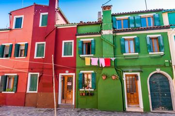 Ile de Burano à Venise