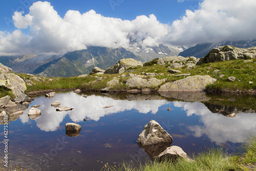 Lac Blanc reflection