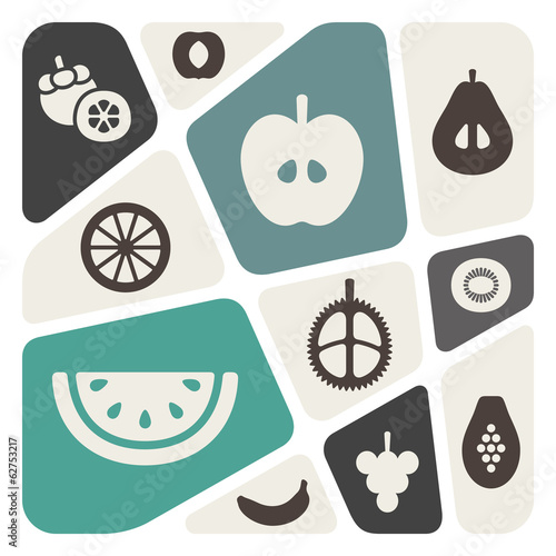 Fruits illustration