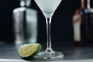 Citron vert et cocktail