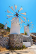 Windmills. Crete, Greece - 62754807