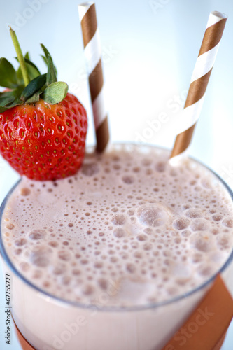 Chocolate Milkshake - shallow dof