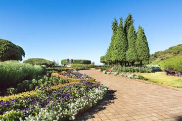 European-style garden  Doi inthanon national park