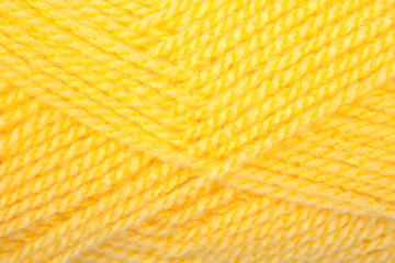 Yellow clew wool