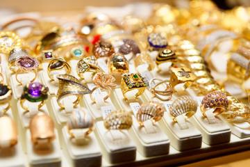 Jewelery market in Istanbul