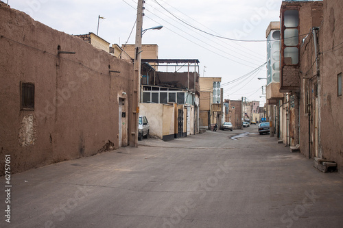 View of a street in Kashan