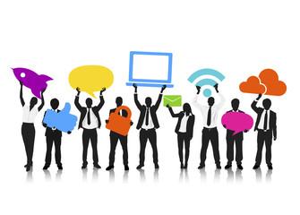 Vector of Social Media Concept