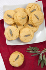 Sage Biscuits Side Dish