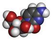 Cytarabine (cytosine arabinoside, Ara-C) chemotherapy drug.