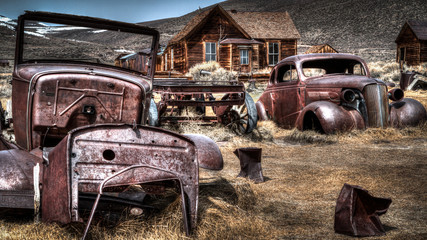 Forgoten, Bodie California