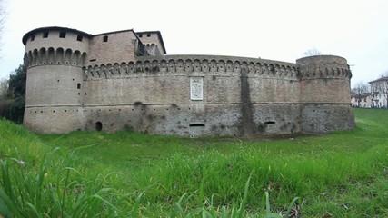 Ravaldino Castle in Forli, Italy