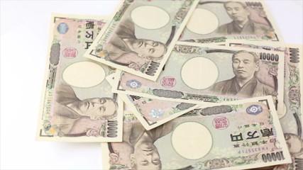 一万円の回転