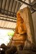 Buddha made of Teak in thailand
