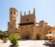 Huesca Cathedral in sunny day